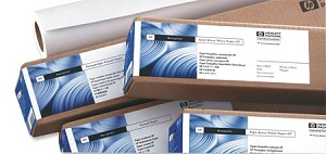 HP Q1427A Hewlett Packard Universal High Gloss Inkjet Plotter Paper Roll 190gsm 914mm x 30.5m White - 861846